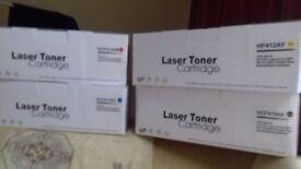 LASER TONER CASRTRIDGES HF412AY