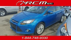 2014 Ford Focus Titanium LEATHER,NAV ONLY $121/BI WEEKLY!!!!