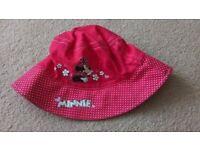 Pretty girls minnie mouse summer hat