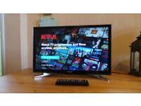 "Samsung Smart TV UE22H5600AK 22"" 1080p HD LED LCD Internet TV,"