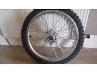 KTM fromt wheel