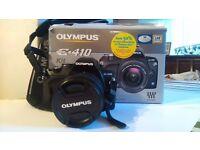 Olympus E410 digital camera with 14-42mm lens