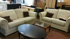 Beautiful fabric 2 and 3 seater sofa set
