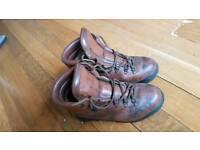 Leather Walking Boots - Waterproof