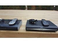3 Sky boxes leads and remote controls all in working order.