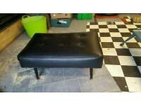 Retro six button footstool