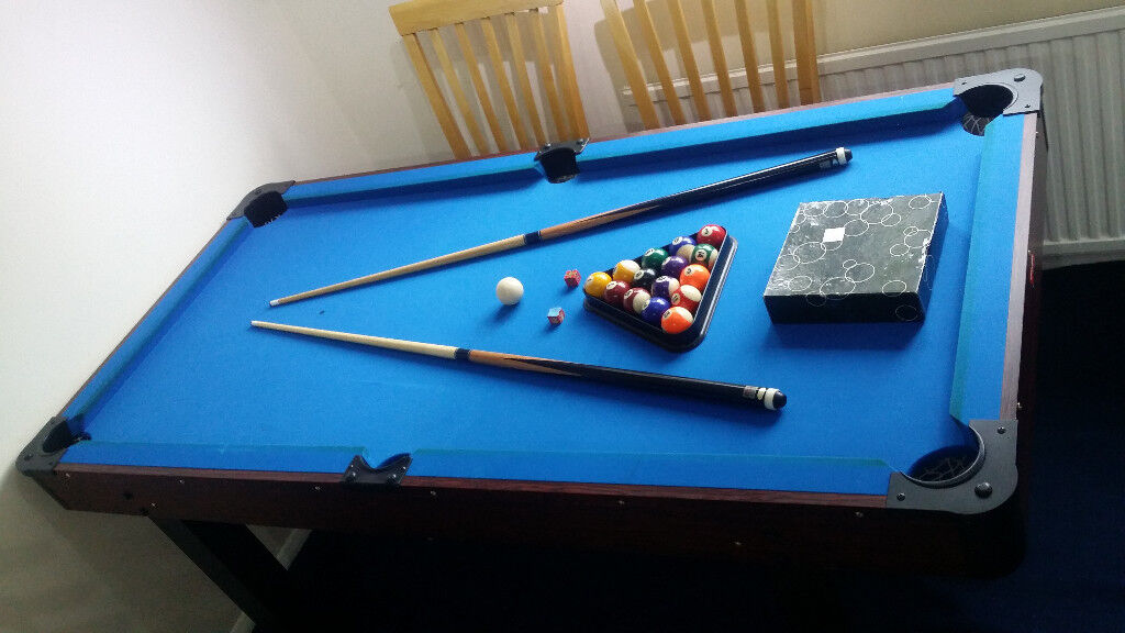 6 Foot Bce Pool Table Dining Tennis Ping Pong