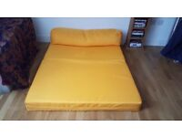 Very compact and comfortable sofa bed