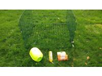Guineapig rabbit run puppy pen cage 3.3ft square collapsible