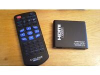 caravan or motorhome 1080P media player,remote control,HDMI,ext drive,mem card,USB..,ideal 4 travel