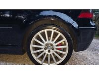"R32 M4K 18"" Alloys (Genuine) x 4 + Tires included"
