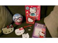 HELLO KITTY BUNDLE ALL IN NEW CONDITION