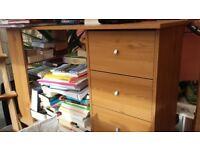 2 x 3 drawer desks from flatpack
