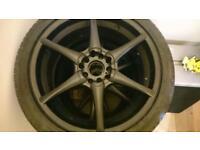 Wheels aloys 18' 5x100 and 5x112