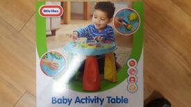 Toys activity table