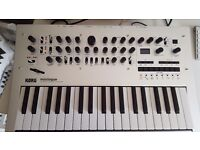 Korg Minilogue Polyphonic Analogue Synthesizer Boxed as New condition with warranty