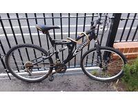 Vertigo Mountain Bike, Shimano gears