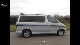 Toyota hiace regius sell fully functional ready for the long drive