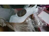 White wedding shoes size 9