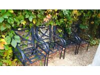 4 x Outdoor chairs
