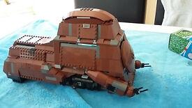 Star Wars LEGO - Trade Federation MTT w/ Box
