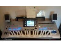 Yamaha Tyros 4 with Memory Expansion Module