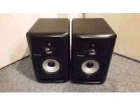 Pair of Pioneer S-DJ50X 2-way Monitor Speakers - Black- Collection Only.