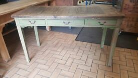 table in chalk-paint style