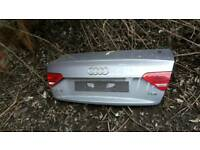 Audi a5 coupe s line rear bootlid grey 07-13