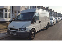 Ford Transit 115 T350 [LWB] [Mid-Roof] 2006 (56) Ply-Lined White