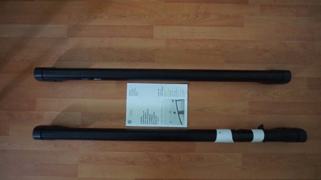 Genuine Volkswagen Touran Roof Bars (Black)
