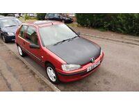 Peugeot 106 1.1 2001 year cheap insurance