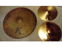Zildjian K's & Z Cymbals!