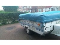 1997 Conway cruiser folding camper and accessories 650ono