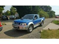 Nissan navara king cab 2.5 diesel 4x4 98k Moted £2400