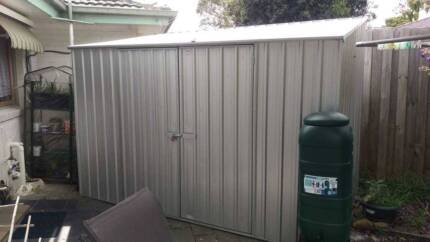 Garden Shed 1.62 m x 3 m In Excellent Condition Only 6 months old