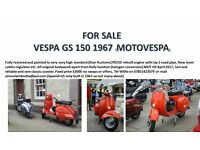 VESPA GS 1967