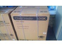 LOGIK Chest Freezer - White New ex display