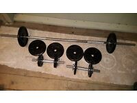 """"""" Delta"""" Stainless Steel Dumbell and Barbells"""