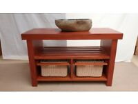 Vanity Unit solid wood mahogany