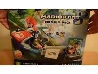 Nintendo wii u premium + 4 games original box/accessories etc