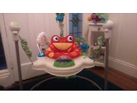 Like New Fisher Price Rainforest Jumperoo