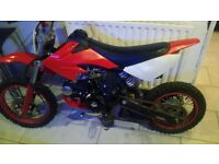 125cc pitbike crosser lifan not a stomp or welsh mountain pitbike