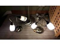 Set of BHS lamps