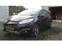 2016 Ford Fiesta ST Damaged repairable Cat D