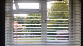 Brand new wooden venetian blind, 50mm