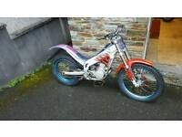 Beta techno 250 trials bike 1998