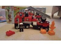 Lego DUPLO 4977 - Fire Engine Play Set