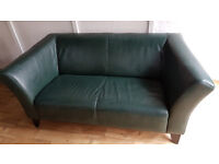 IKEA LEATHER SOFA + FREE DELIVERY