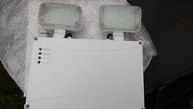 Led twin spot emergency lights